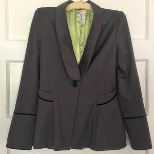 Tulle Edwardian Style Grey Jacket